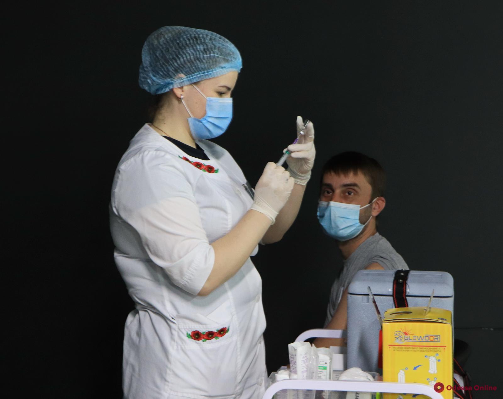 Пункты массовой вакцинации от Covid-19 в Одессе вновь откроются в понедельник, 21 июня