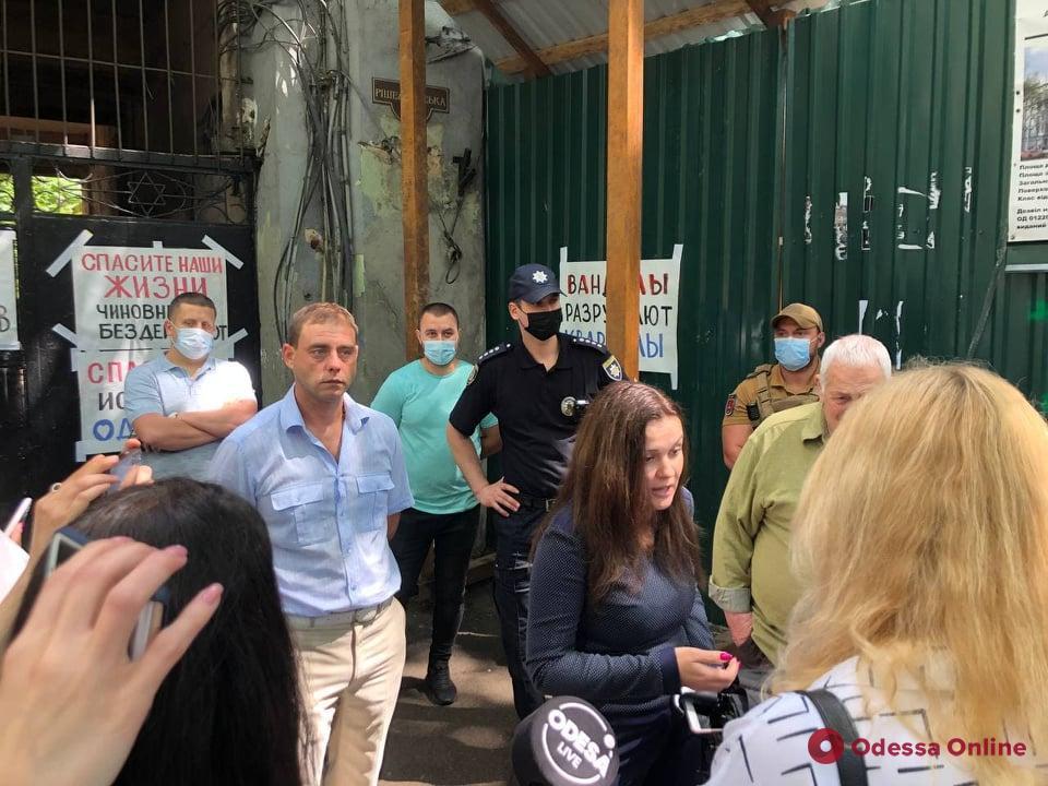 Министр культуры Ткаченко нагрянул с проверкой в типографию Фесенко (фото)