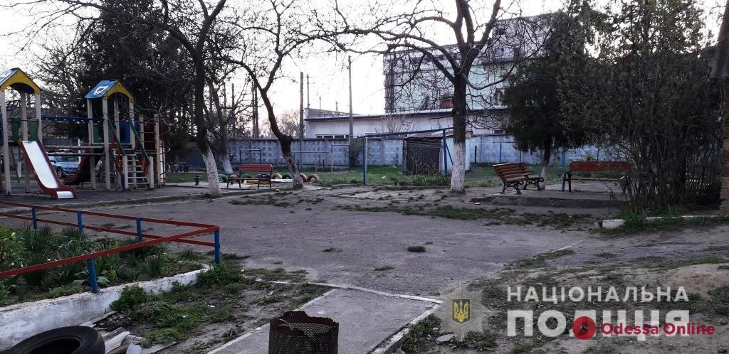 Житель Одесской области ограбил восьмилетнего мальчика на детской площадке
