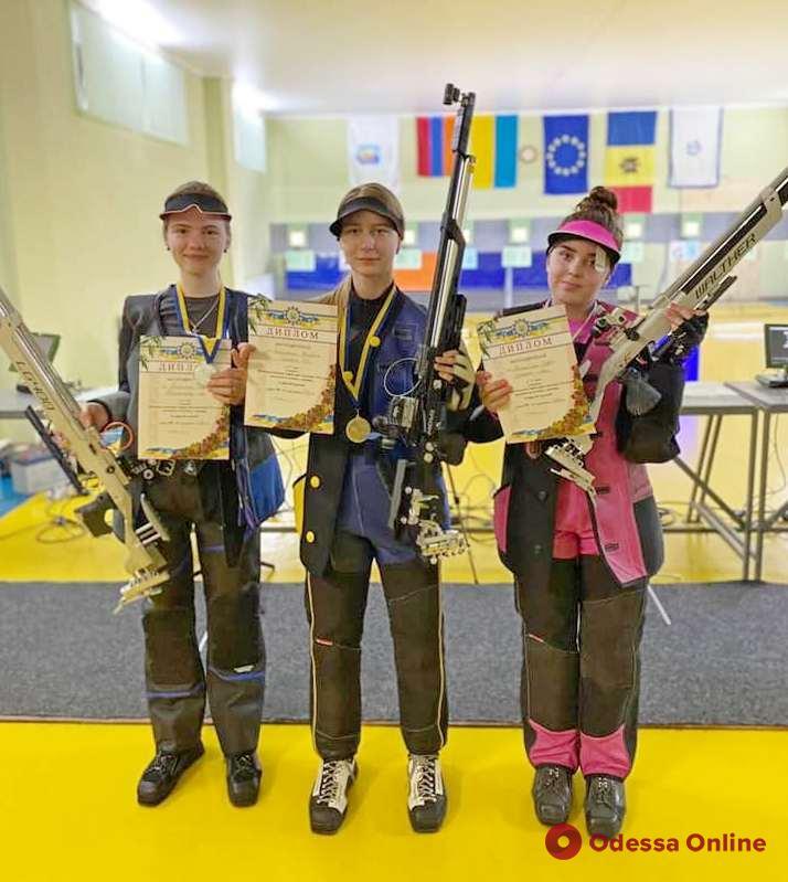 Одесситы успешно выступили на чемпионате Украины по пулевой стрельбе
