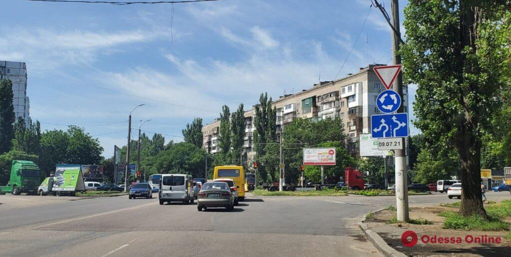 С 9 июля на одном из перекрестков на поселке Котовского изменится схема движения