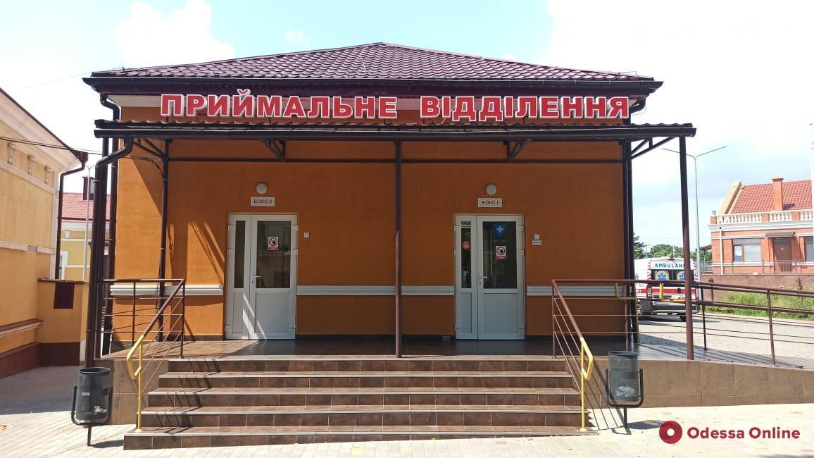 В опорных больницах Одессы находятся 84 пациента с COVID-19