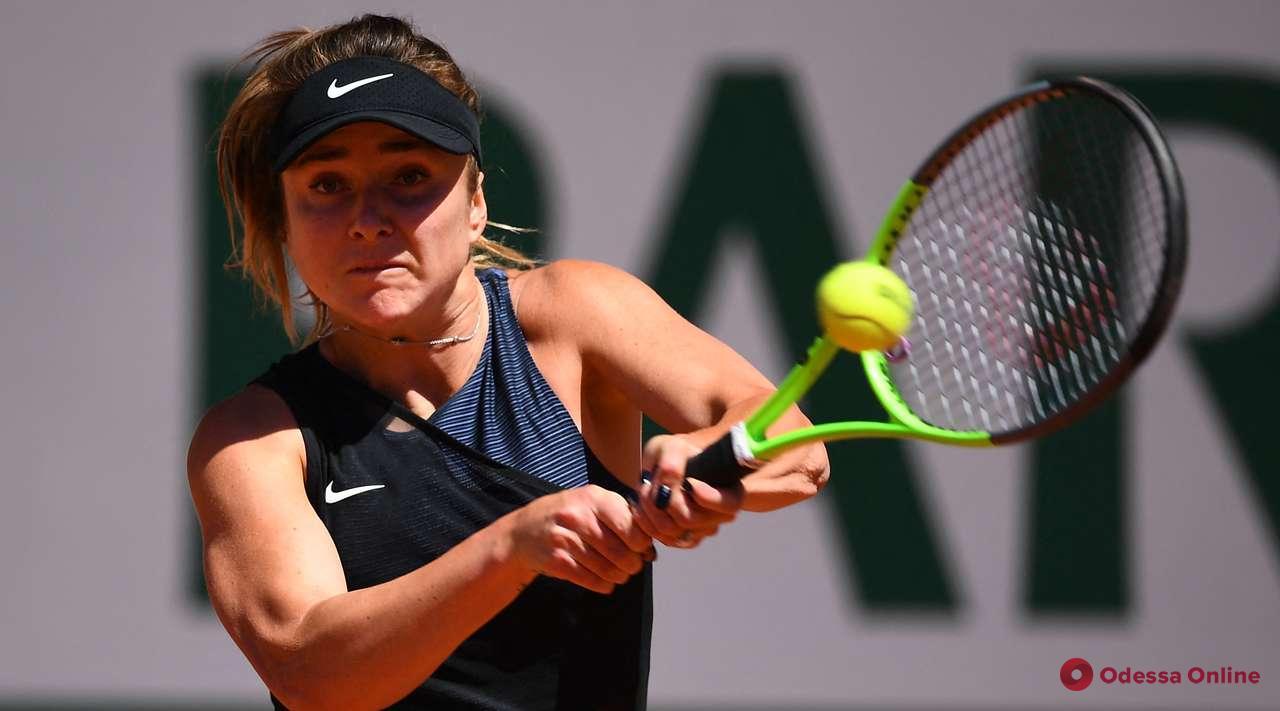 Одесская теннисистка не без проблем обыграла 1111 ракетку мира