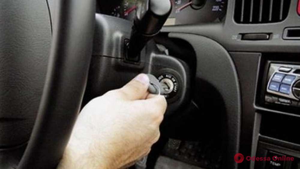 В Одессе полиция сообщила о подозрении автомеханику, который без спроса решил покататься на авто клиентки