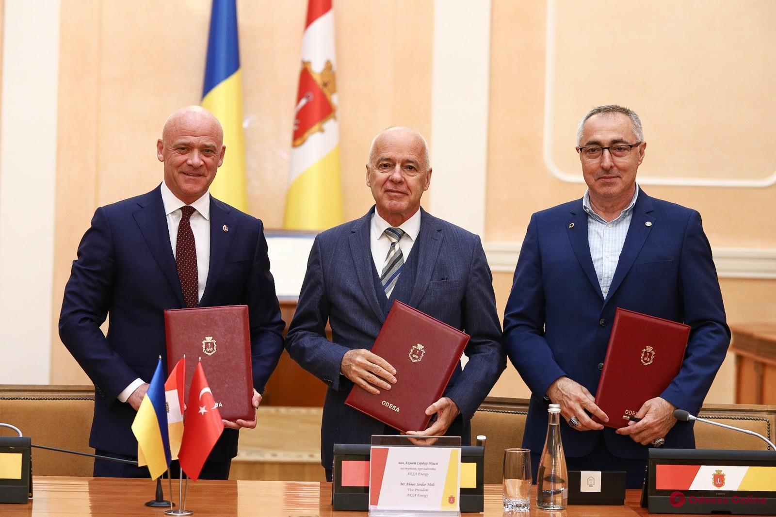 Геннадий Труханов подписал меморандум с представителями турецкого энергетического гиганта о строительстве в городе парогазовой станции