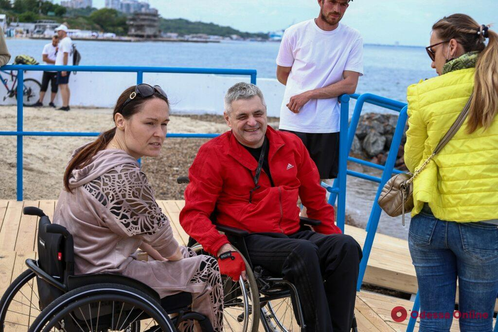 В мэрии Одессы намерены сделать доступнее пляжи для людей с инвалидностью