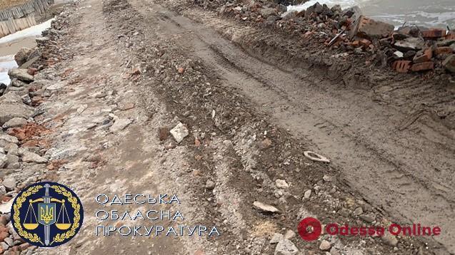 Житель Одесской области незаконно строил причал в нацпарке «Тузловские лиманы»
