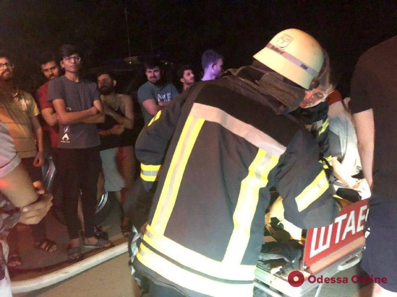 В Одессе в результате пожара в общежитии пострадал студент