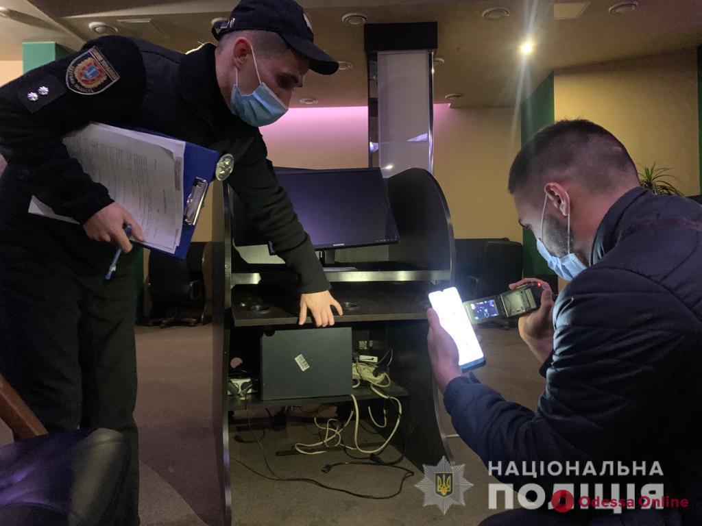 На проспекте Шевченко «накрыли» подпольное казино