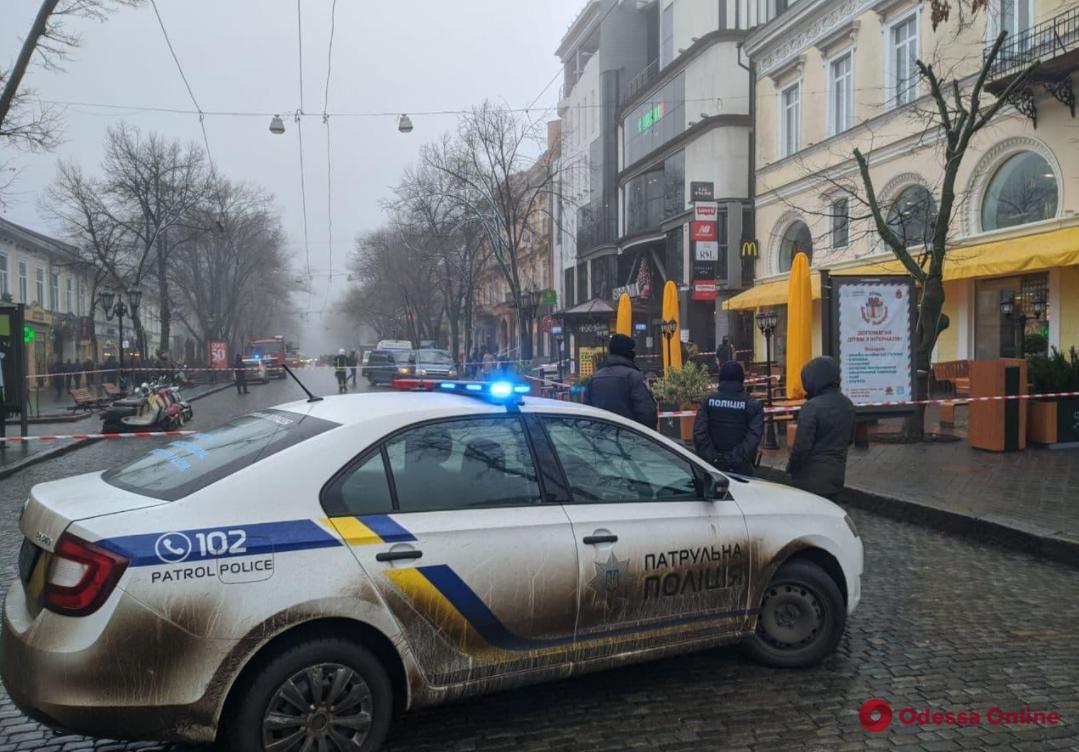 Суд вынес приговор мужчине, который угрожал взорвать гранату в «Макдоналдсе» на Дерибасовской