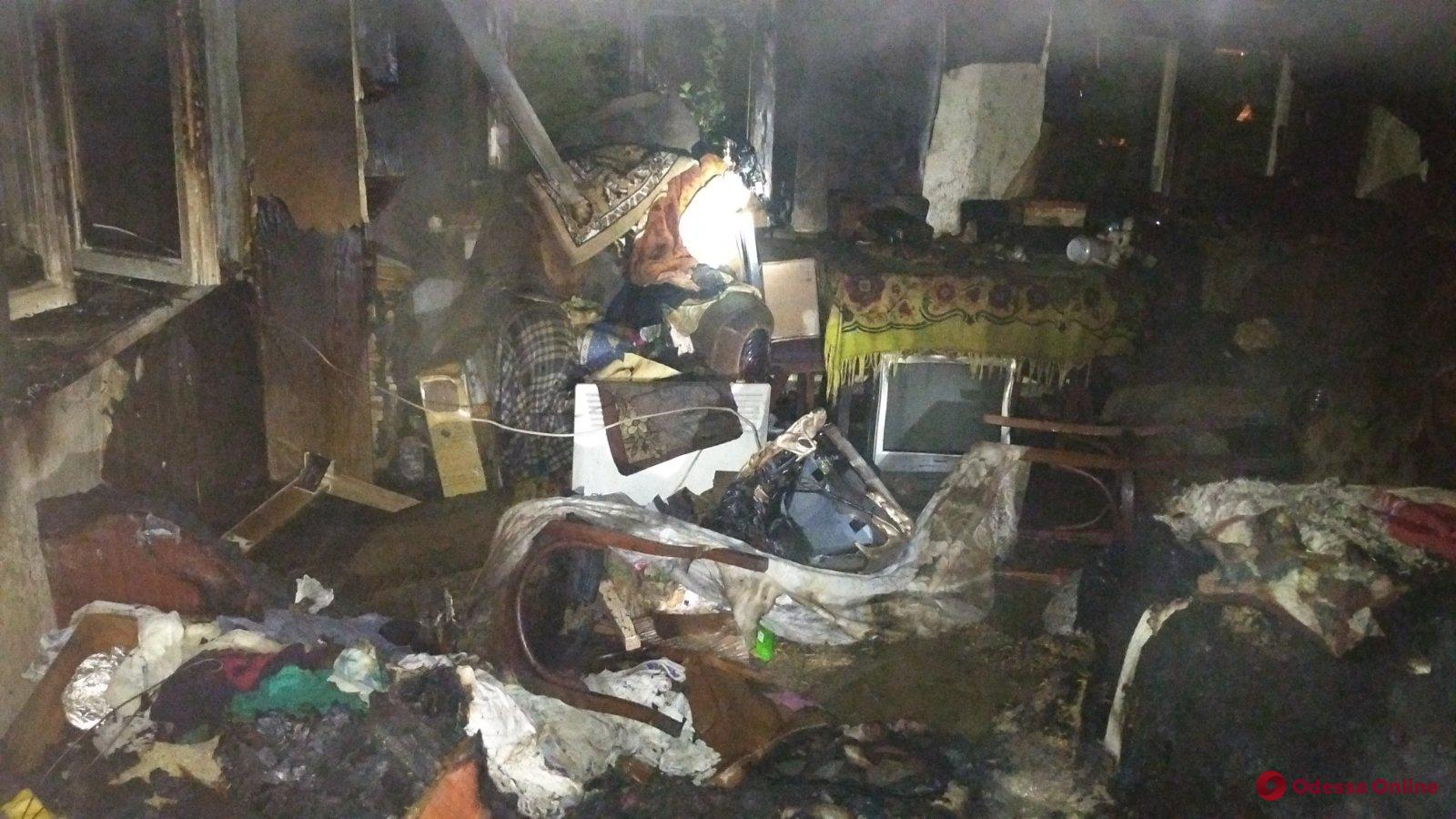 В Овидиополе в пожаре погибла женщина