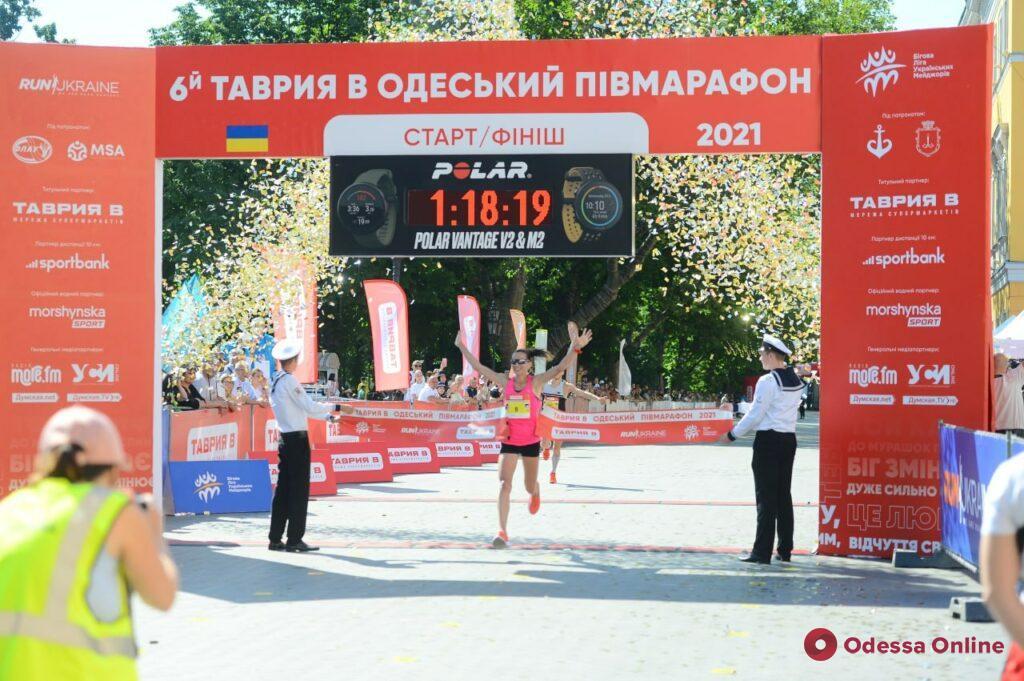VI Одесский полумарафон: 2800 бегунов и новый рекорд