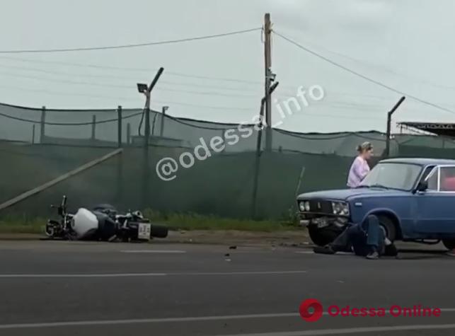 Пострадавший в ДТП в районе Двух столбов мотоциклист скончался в больнице