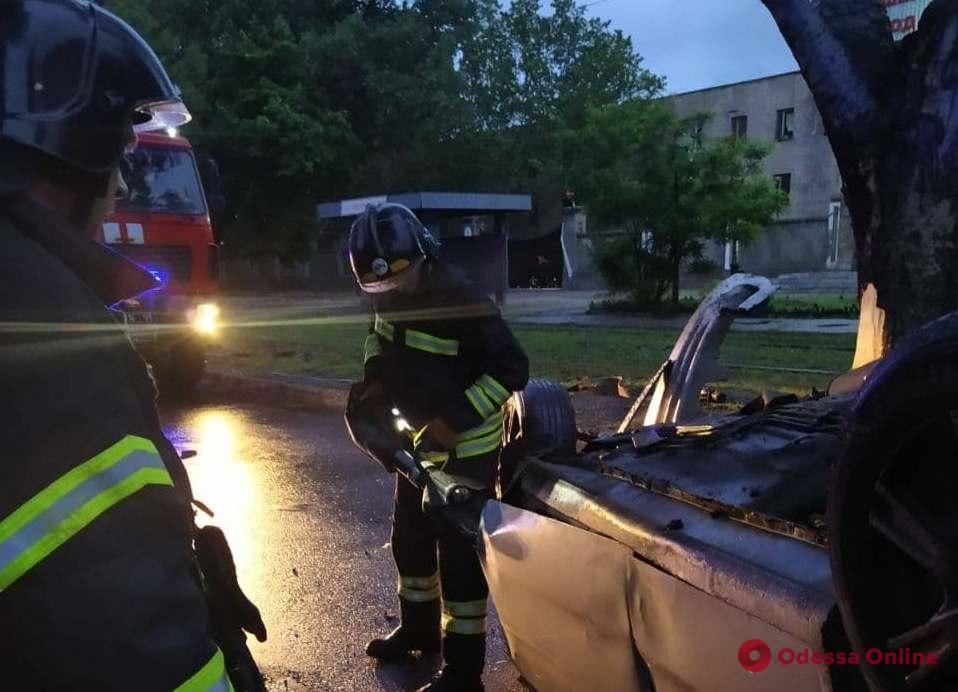 Ночное ДТП на Черноморского Казачества: один из пострадавших находится в коме