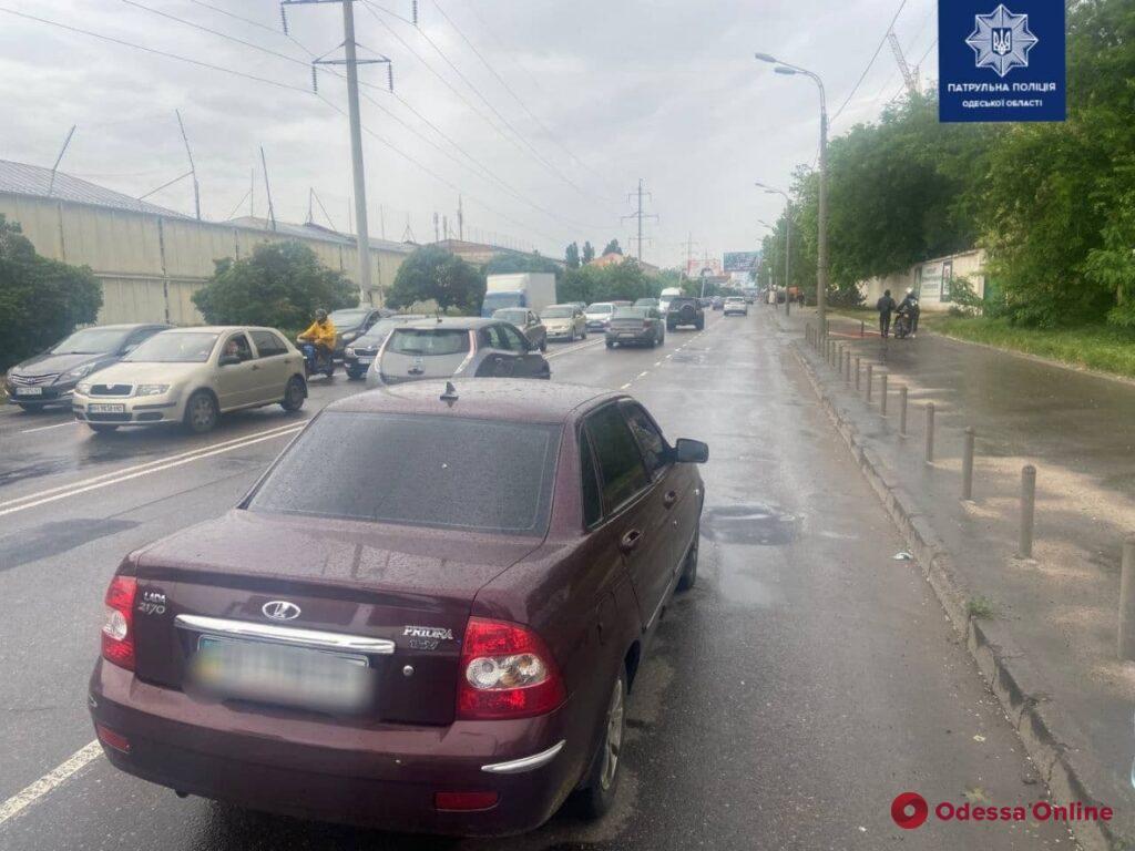 На Краснова водитель автомобиля ВАЗ сбил пешехода