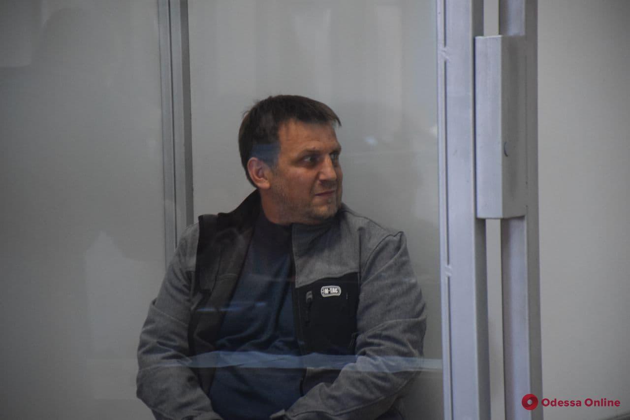 Подозреваемого в вымогательстве одесского активиста Резвушкина отправили в СИЗО