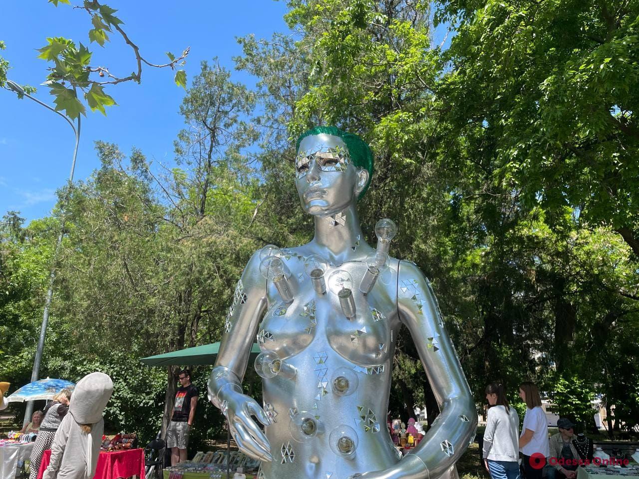 В парке Шевченко проходит второй Одесский Международный экологический фестиваль (фото)