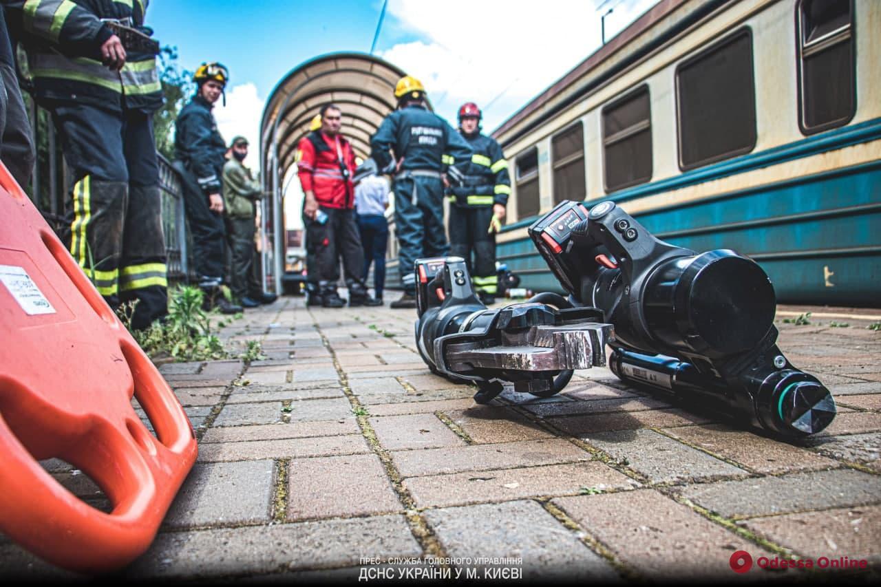 В Киеве мужчину зажало между платформой и поездом – он погиб