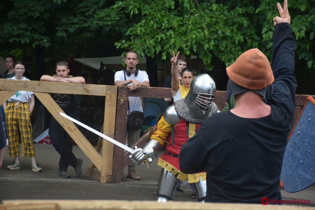 В Одессе проходит рыцарский фестиваль (фоторепортаж)
