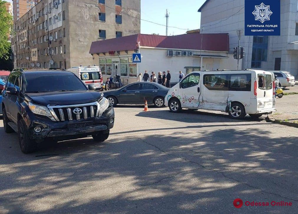 На Молдаванке произошло ДТП с пострадавшими