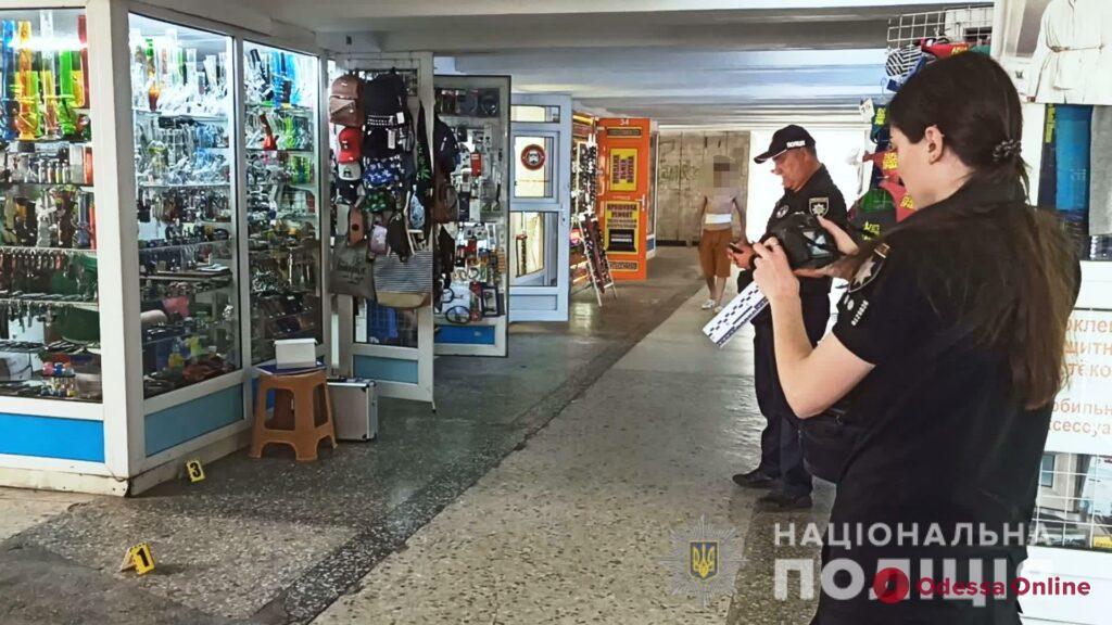 В подземном переходе в районе железнодорожного вокзала кавказец ударил одессита ножом в спину
