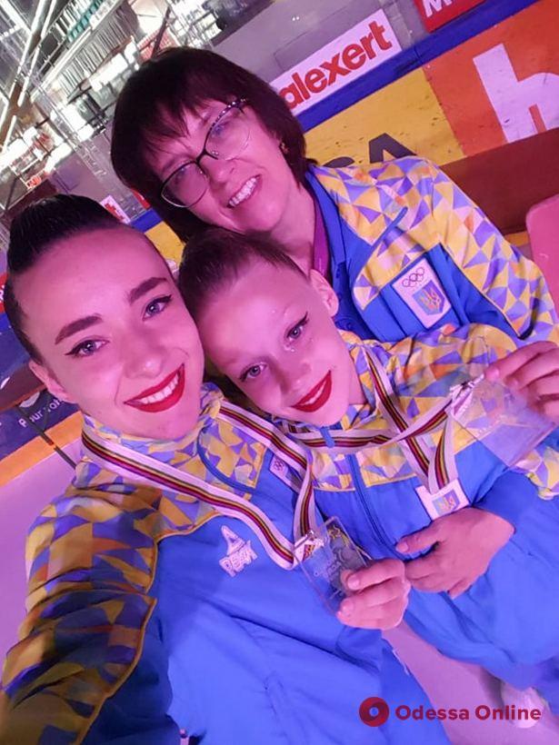 Одесситки завоевали «золото» престижного международного турнира по спортивной акробатике