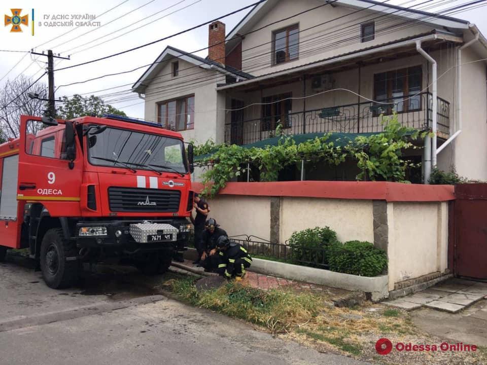 В Одесской области спасатели продолжают ликвидировать последствия вчерашнего ливня