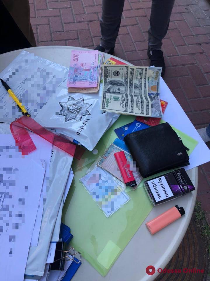 Одесские правоохранители поймали на взятке гендиректора «Регистра судоходства»