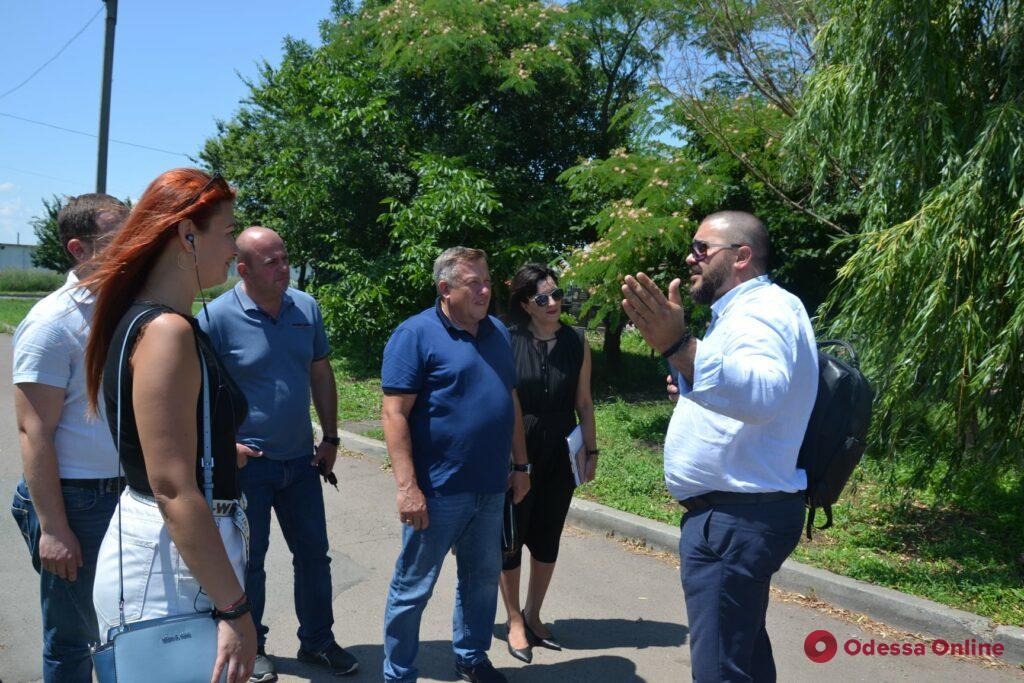 В Одессе делегация из Мариуполя перенимала опыт работы крематория