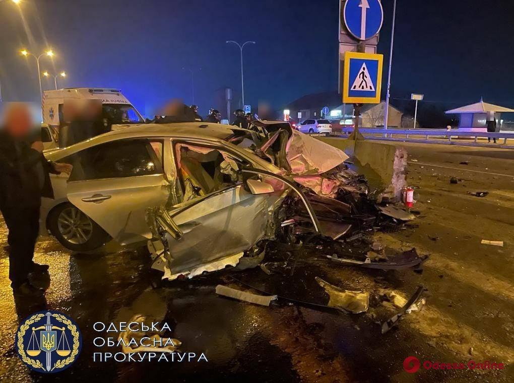 В Одессе двое полицейских ответят в суде за ДТП, в котором погиб их коллега