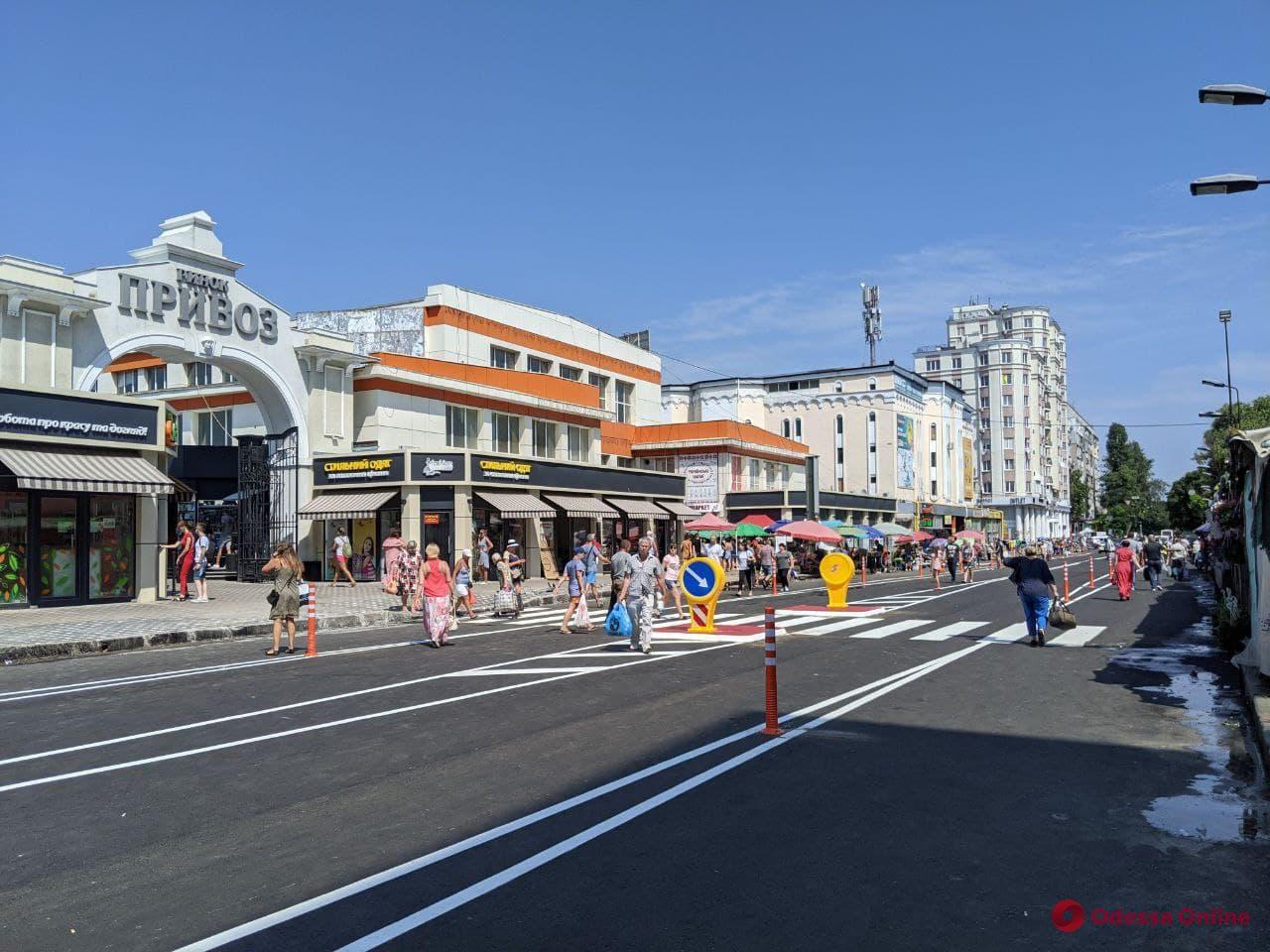 Реконструкция Екатерининской: в новом паркинге возле «Привоза» одесситы смогут бесплатно оставить авто на два часа
