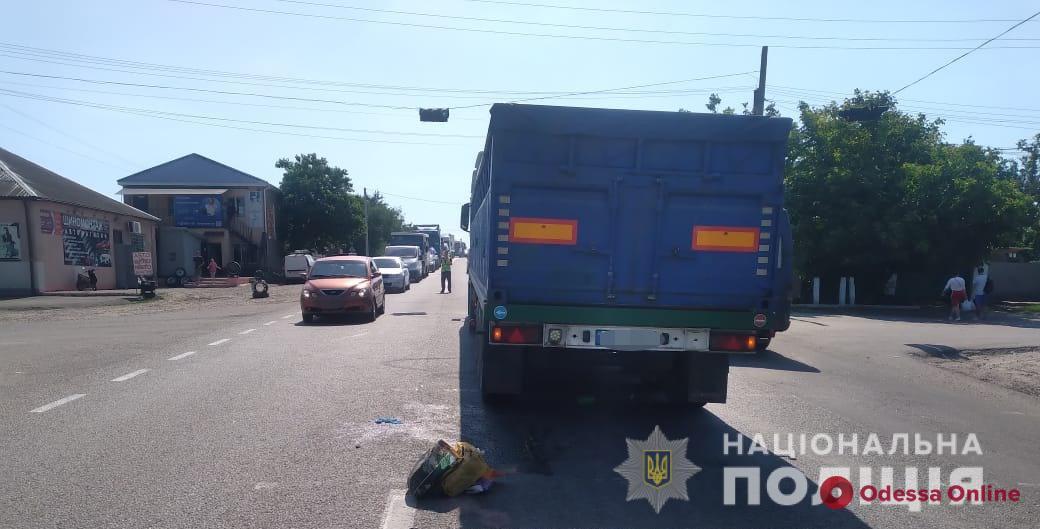 Под Одессой водитель грузовика сбил женщину