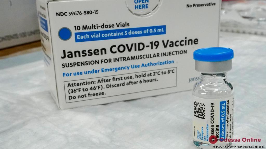 В Украине зарегистрировали вакцину Janssen против COVID-19