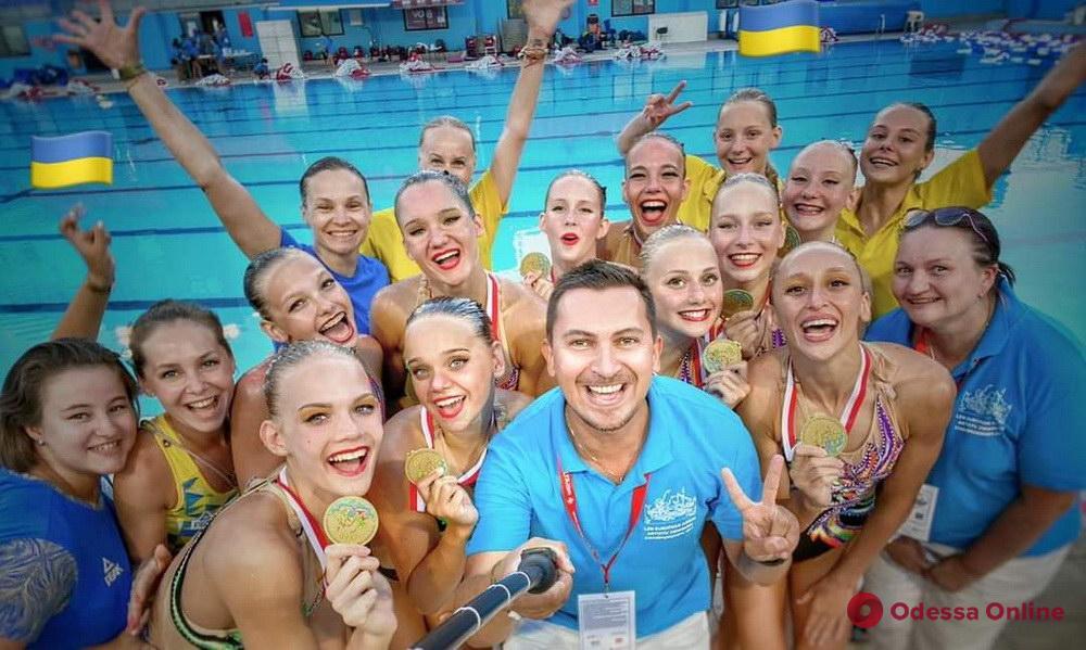 Вошла в историю: юная одесситка стала чемпионкой Европы по артистическому плаванию