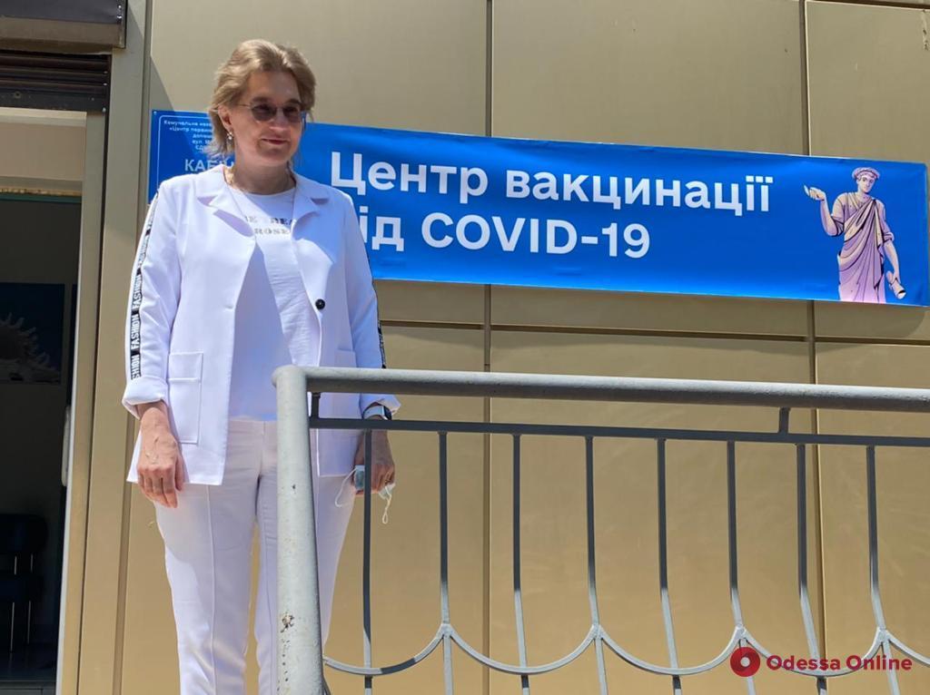 Ольга Голубовская: городская власть Одессы ответственно подошла к вопросу вакцинации