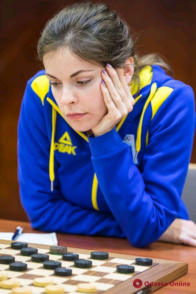 Одесситка завоевала медаль чемпионата мира по международным шашкам