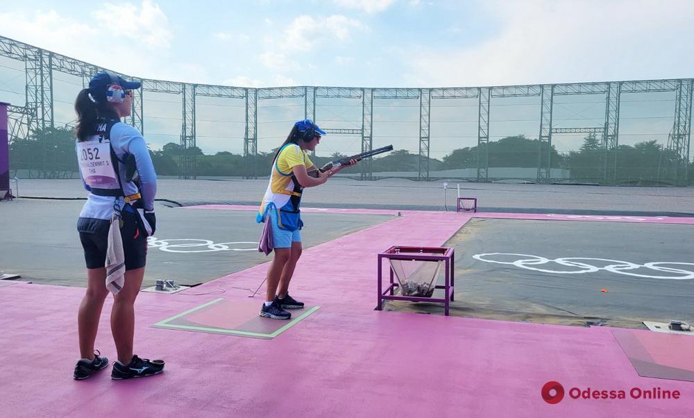 Токио-2020: одесситка остановилась в шаге от выхода в финал в олимпийском турнире по стендовой стрельбе