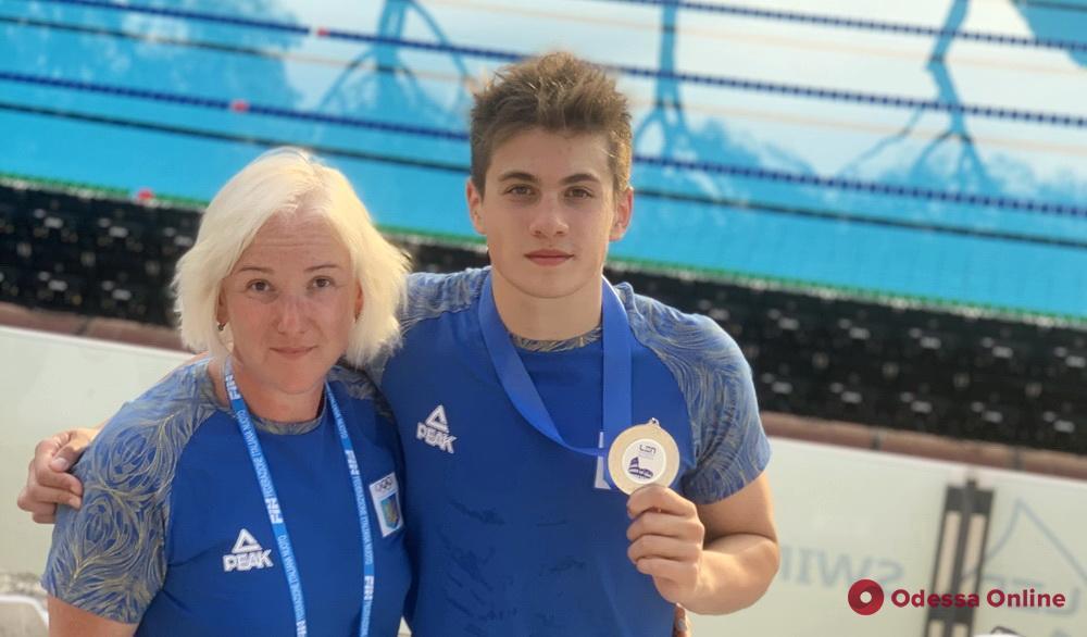 Плавание: одессит завоевал титул вице-чемпиона Европы