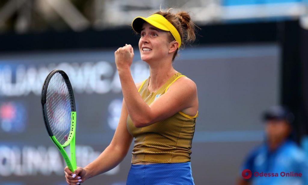 Невероятная победа за 2,5 часа: теннисистка из Одессы вышла в 1/8 финала турнира в США