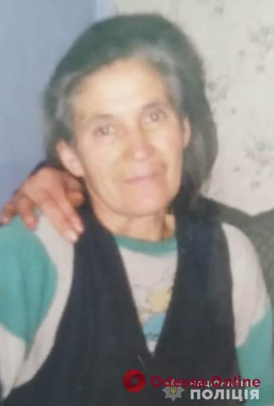 В Одесской области разыскивают пропавшую пожилую женщину