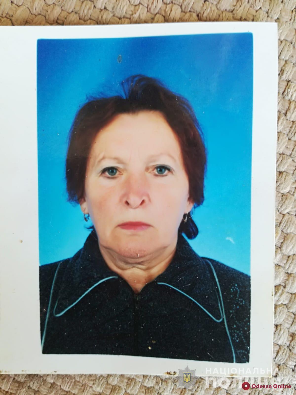 В Одесской области разыскивают пожилую женщину