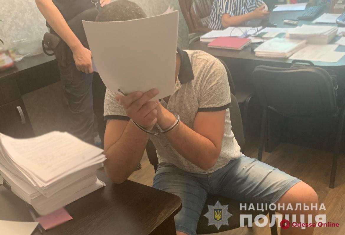 На поселке Котовского поймали домушника-иностранца