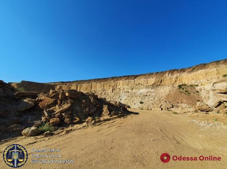 Ущерб на 75 миллионов: в Одессе будут судить предпринимателя за незаконную добычу песка