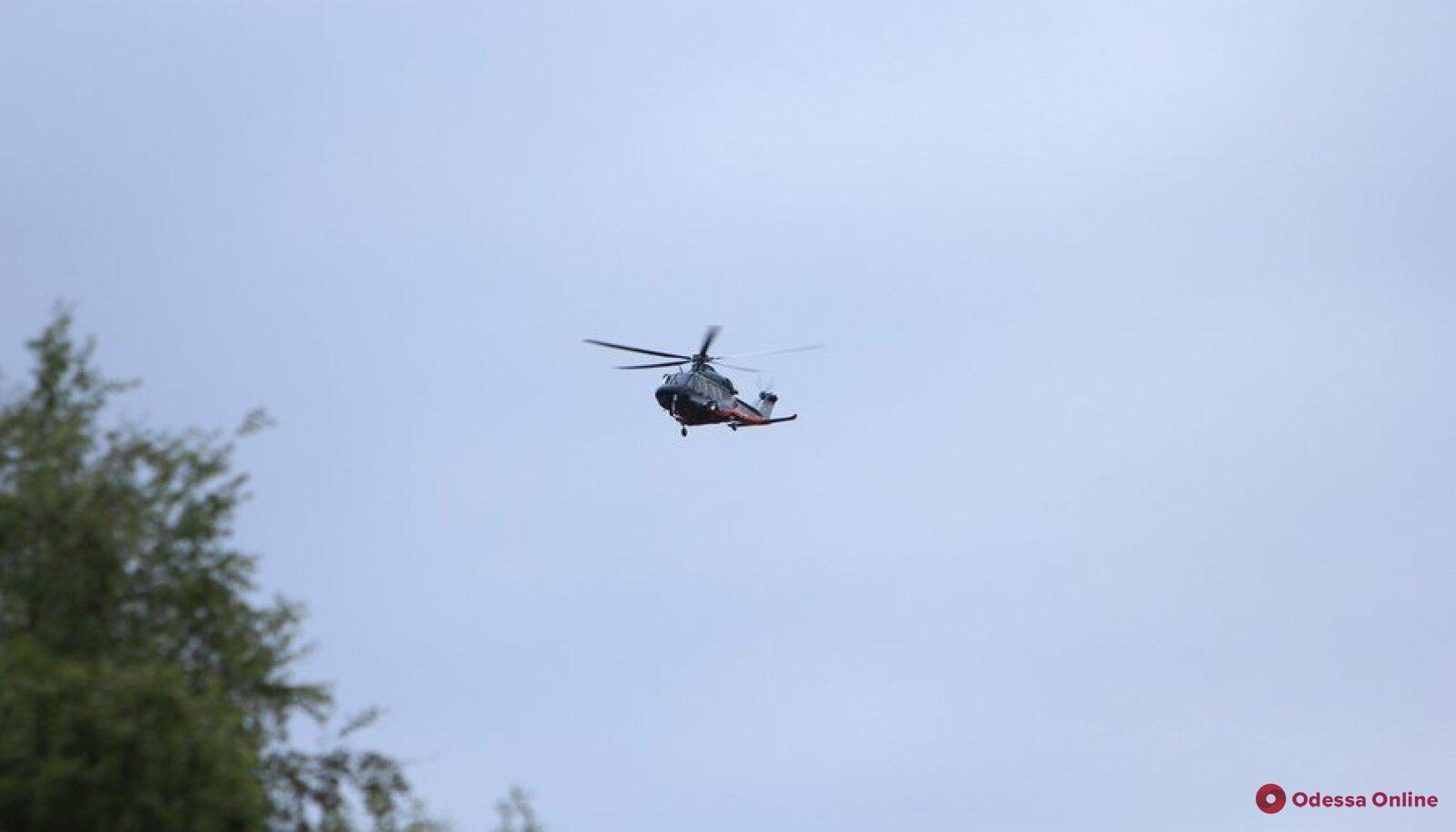 В Польше в результате падения вертолета пострадали трое украинцев