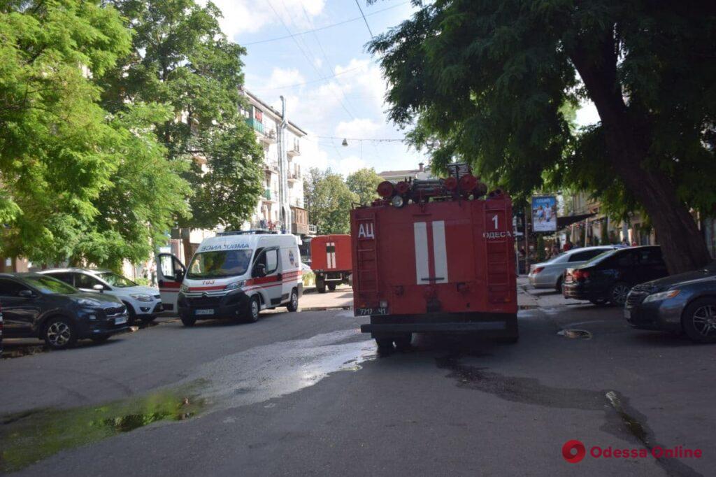 На Гаванной тушили пожар в ресторане «Slow Piggy» (фото, обновлено)