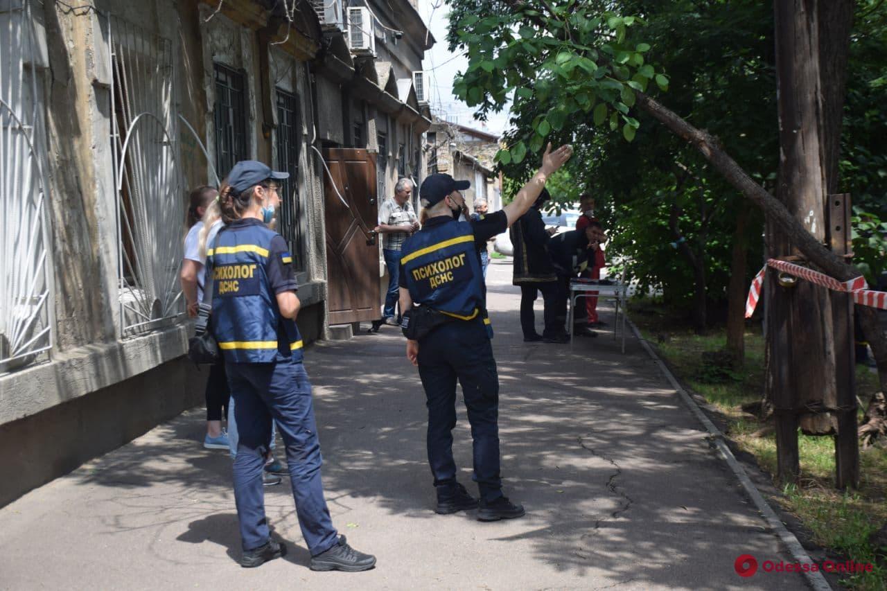 На Старопортофранковской обрушился дом (фото, обновляется)