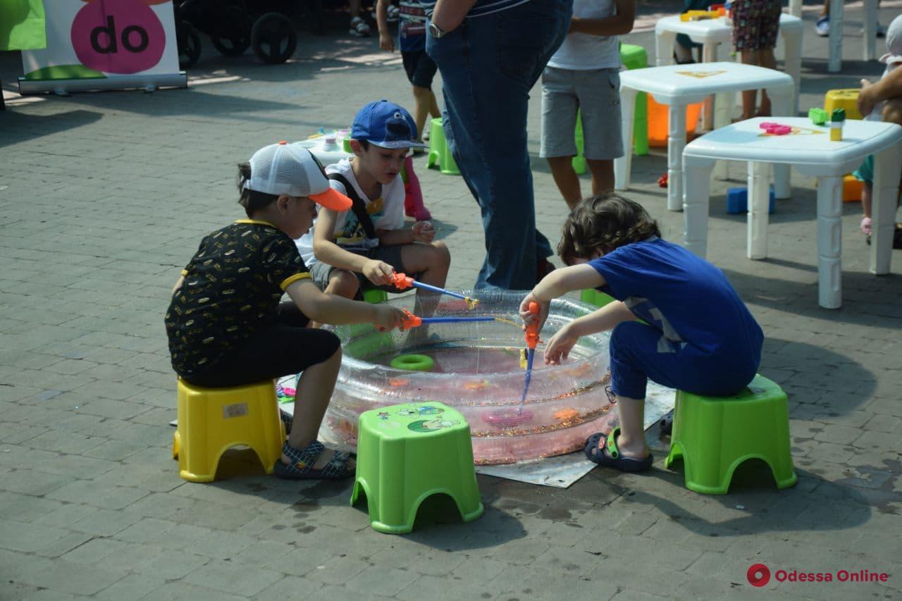 В парке Горького празднуют День Нептуна (фото)