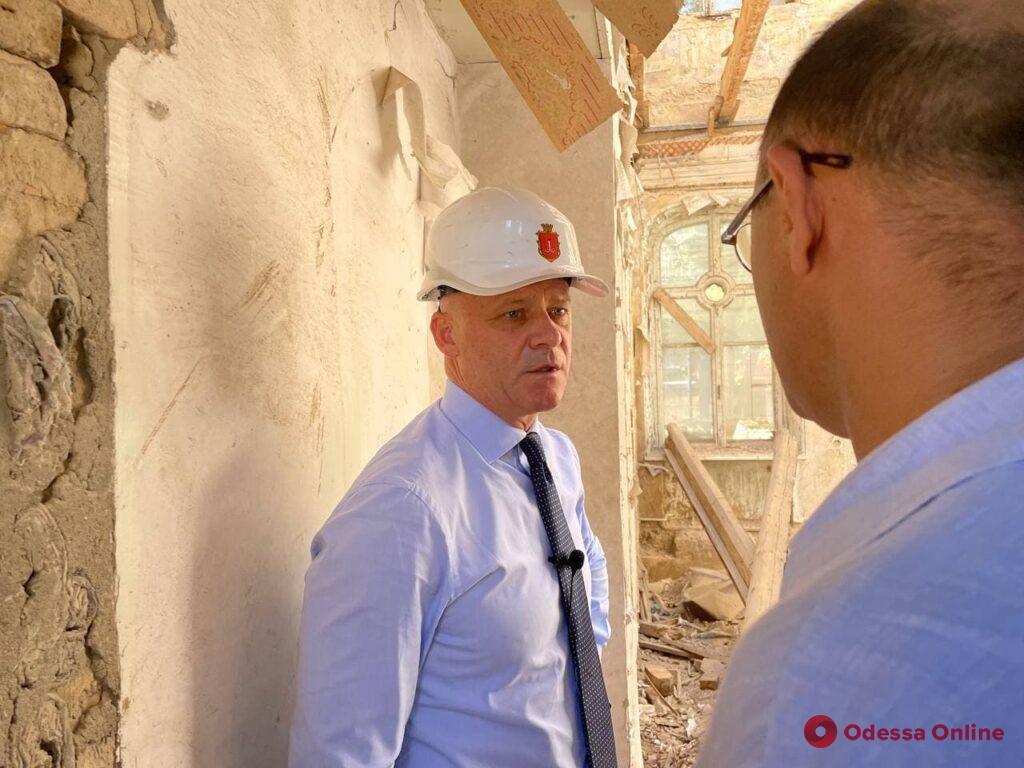 «Все действия должны быть взвешены и просчитаны», — Геннадий Труханов о работах по спасению Дома Гоголя