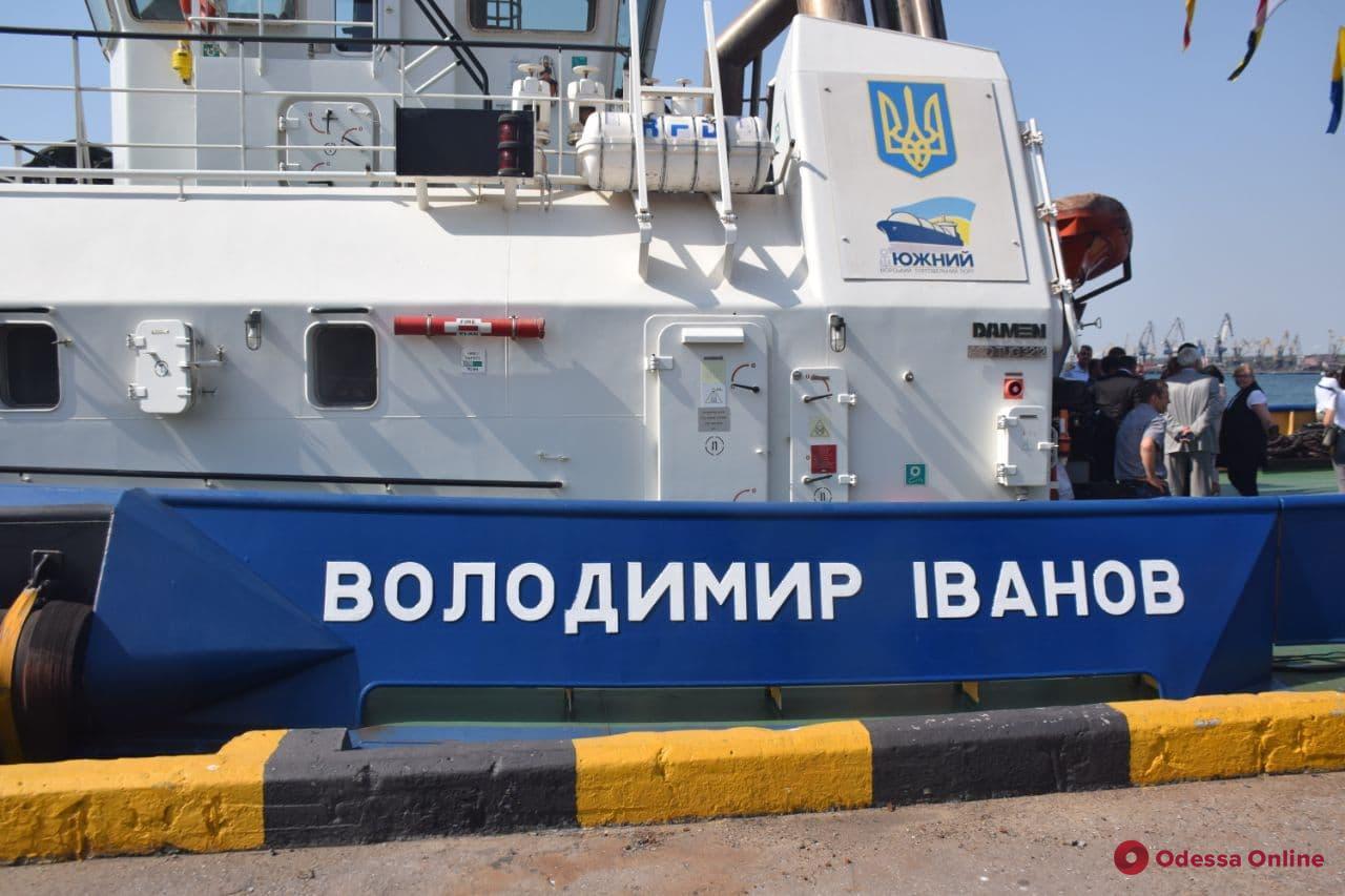 Глава Верховной Рады Разумков посетил порт «Южный» (фото)