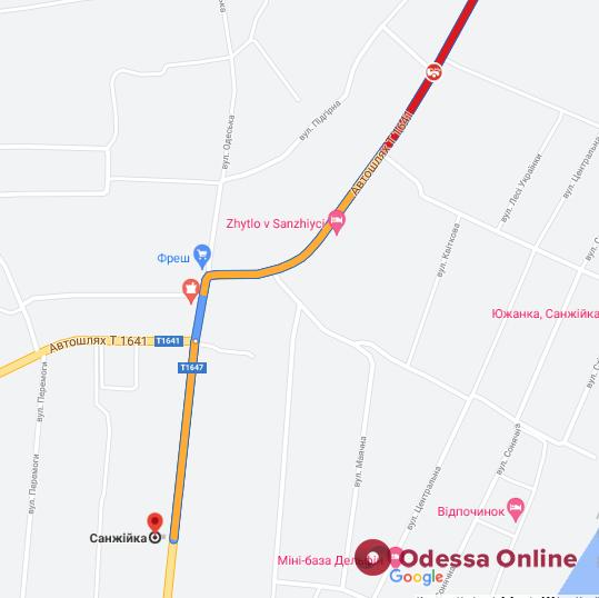 На автодороге возле Санжейки образовалась большая пробка из-за ДТП